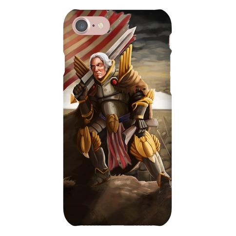 George Washington Paladin Phone Case