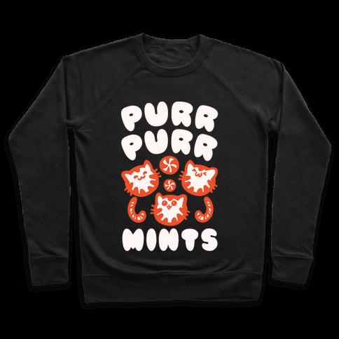 Purr Purr Mints Pullover