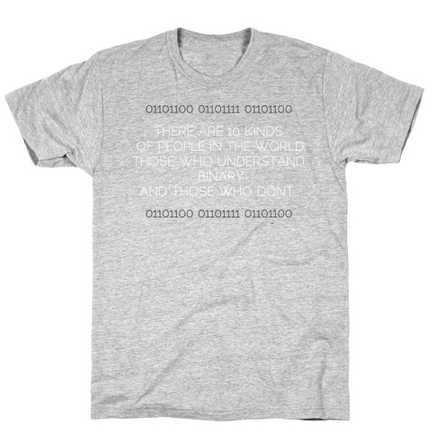 Binary (light) T-Shirt