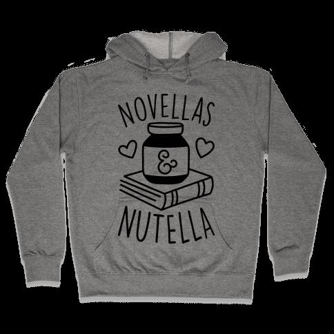 Novellas & Nutella Hooded Sweatshirt