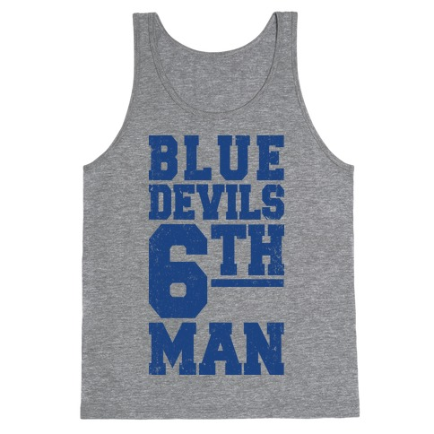 Blue Devils Sixth Man Tank Top
