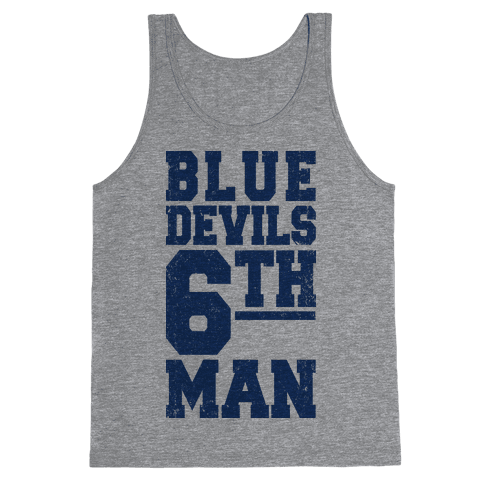 Blue Devils Sixth Man Tank Top