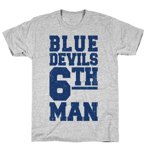 Blue Devils Sixth Man Mens T-Shirt