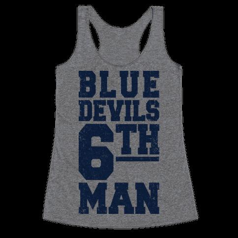 Blue Devils Sixth Man Racerback Tank Top