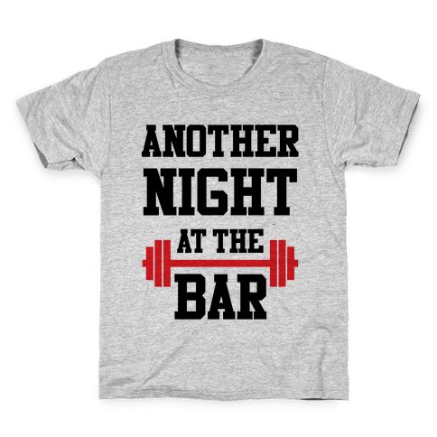 Another Night At The Bar Kids T-Shirt