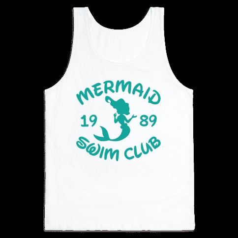 Mermaid Swim Club Tank Top