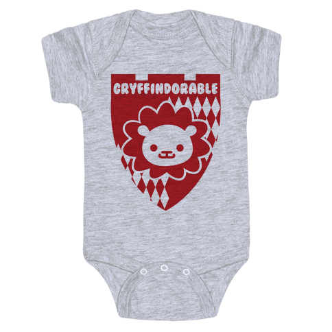 Gryffindorable Baby Onesy