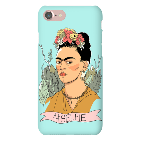 Frida #Selfie Phone Case