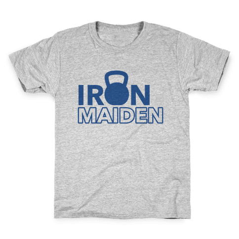 Iron Maiden (Kettlebell) Kids T-Shirt