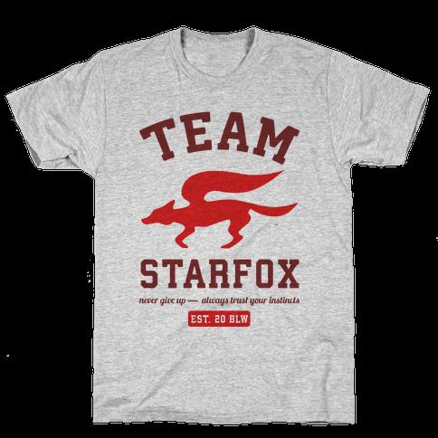 Team Starfox Mens/Unisex T-Shirt