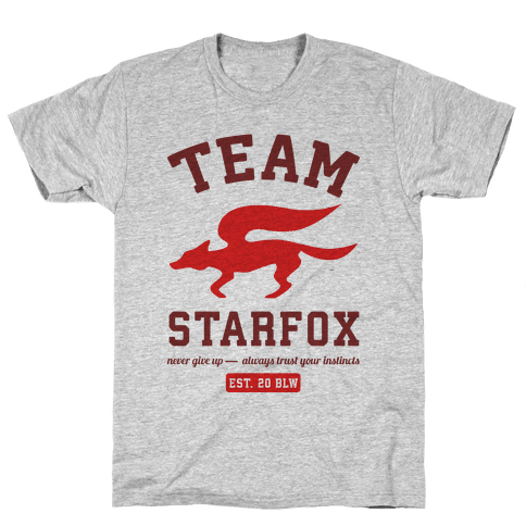 Team Starfox Mens T-Shirt