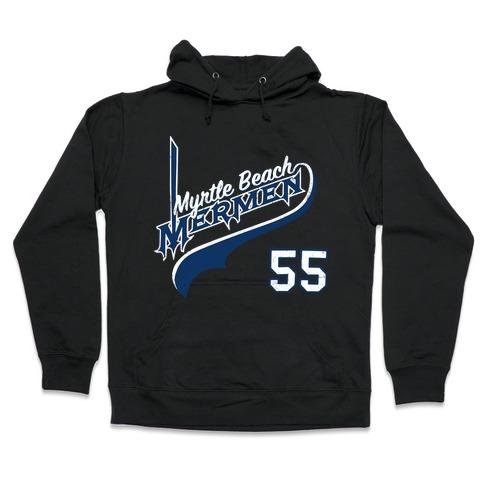 Vintage Kenny Powers Jersey Hooded Sweatshirt