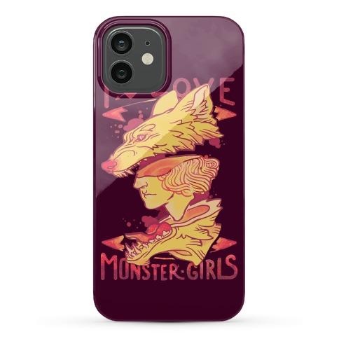 I Love Monster Girls Phone Case