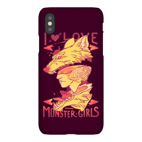 I Love Monster Girls Phone Case