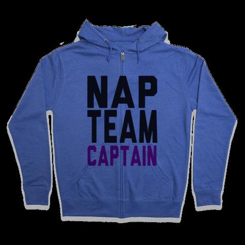 Nap Team Captain Zip Hoodie