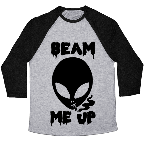 Beam Me Up Baseball Tee