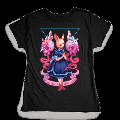 Do What Thou Wilt Womens T-Shirt