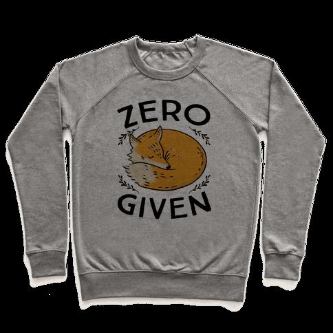 Zero Fox Given Pullover