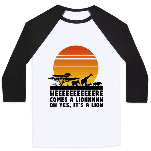 Circle of Life (English Translation) Baseball Tee