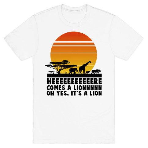 Circle of Life (English Translation) Mens T-Shirt