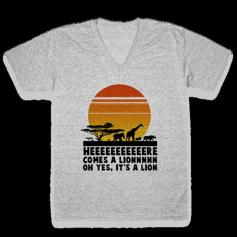 Circle of Life (English Translation) V-Neck Tee Shirt