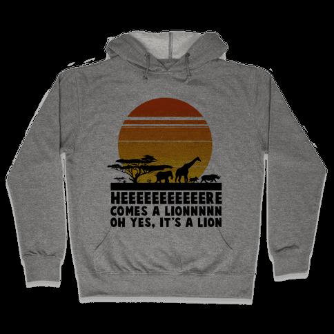 Circle of Life (English Translation) Hooded Sweatshirt