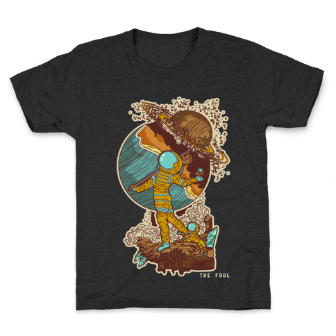 The Fool in Space Kids T-Shirt