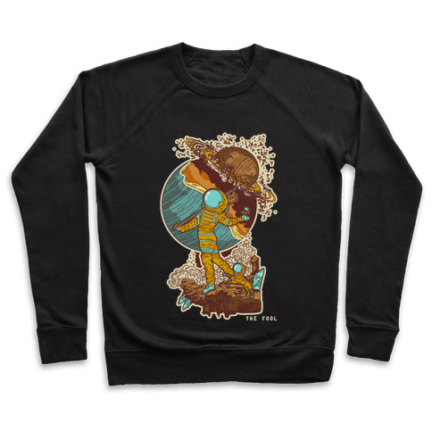 The Fool in Space Pullover