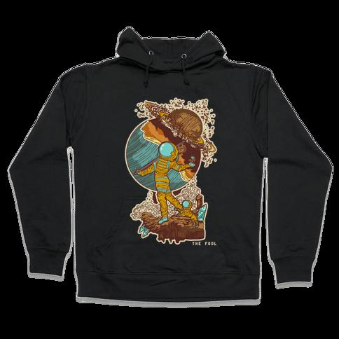 The Fool in Space Hooded Sweatshirt