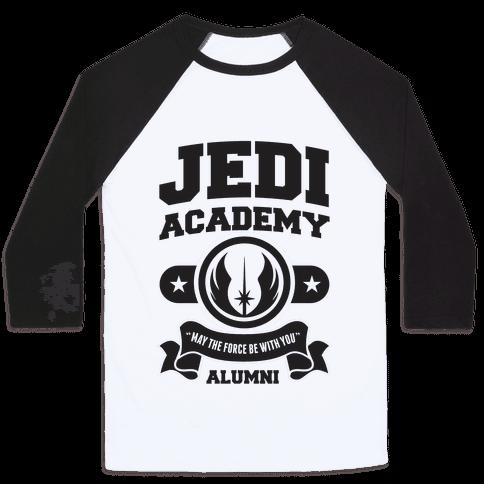 Jedi Academy Alumni Baseball Tee