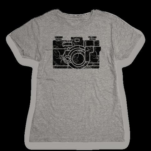 Camera Womens T-Shirt