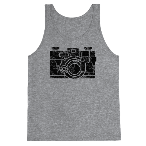 Camera Tank Top