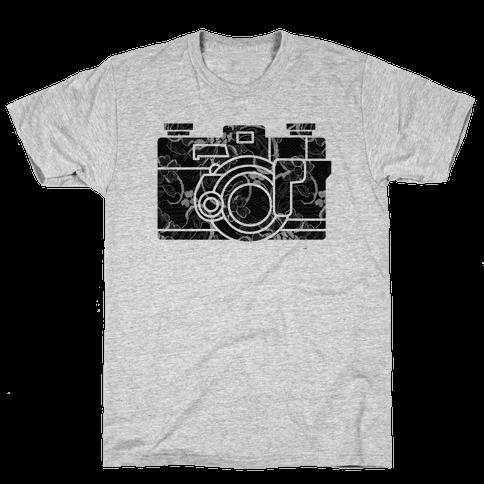 Camera Mens T-Shirt
