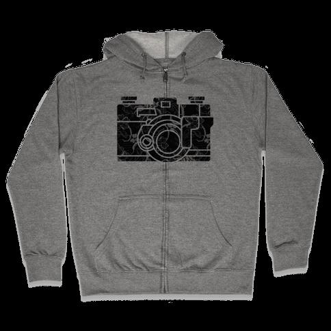 Camera Zip Hoodie
