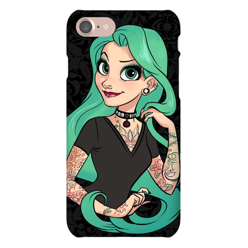 Punk Rapunzel Phone Case