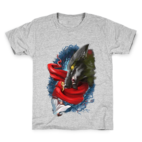 Little Red Riding Hood and the Wolf Kids T-Shirt