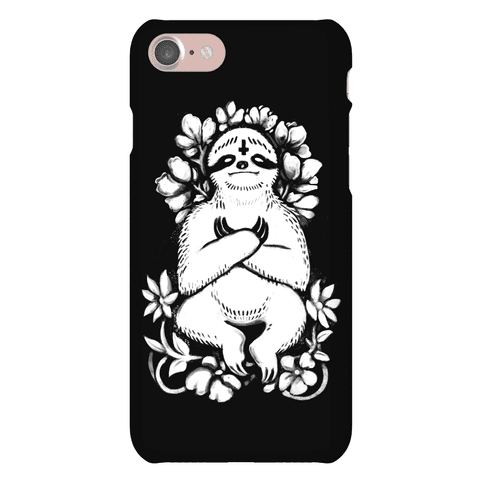 Sinful Sloth Phone Case