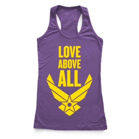 Love Above All Racerback Tank Top