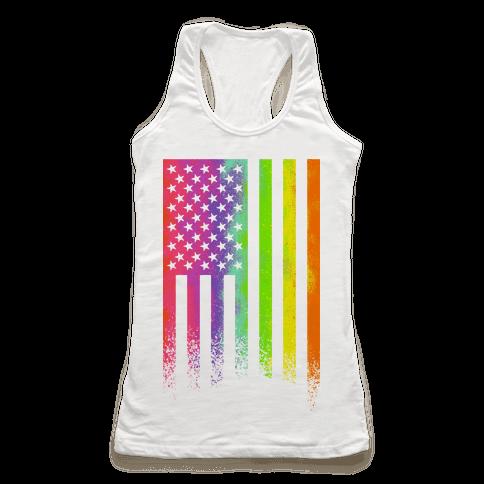 American Pride Racerback Tank Top