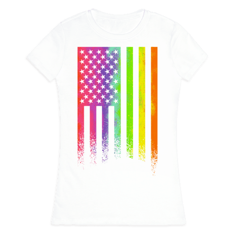 American Pride Womens T-Shirt