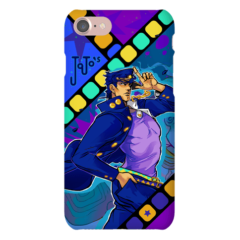 JoJo's Bizarre Adventure Jotaro Phone Case