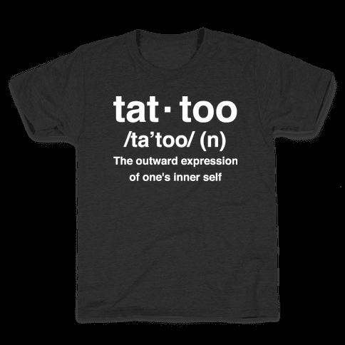 Tattoo Definition  Kids T-Shirt