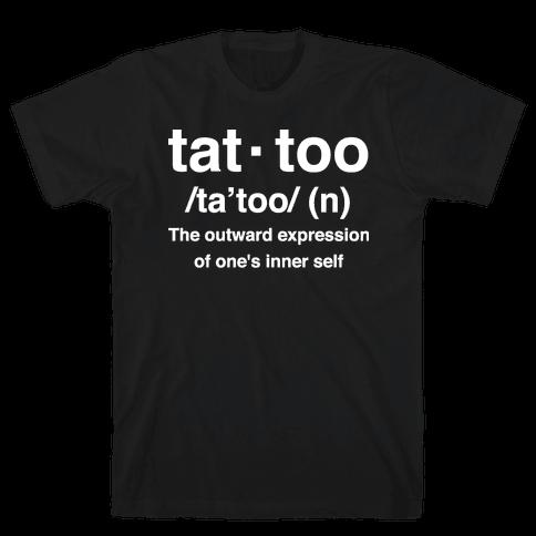 Tattoo Definition  Mens T-Shirt