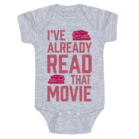 I've Already Read That Movie Baby Onesy