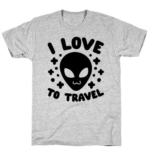 I Love To Travel T-Shirt