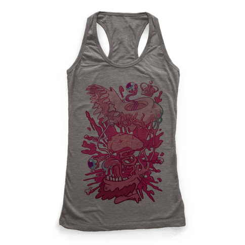 Werewolf King Racerback Tank Top