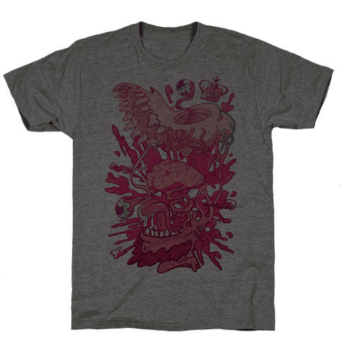 Werewolf King Mens T-Shirt