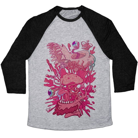 Werewolf King Baseball Tee