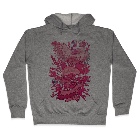 Werewolf King Hooded Sweatshirt