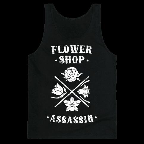 Flower Shop Assassin (Vintage) Tank Top